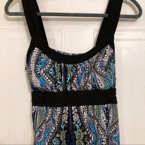 La Belle Halter Top Summer Dress Lg